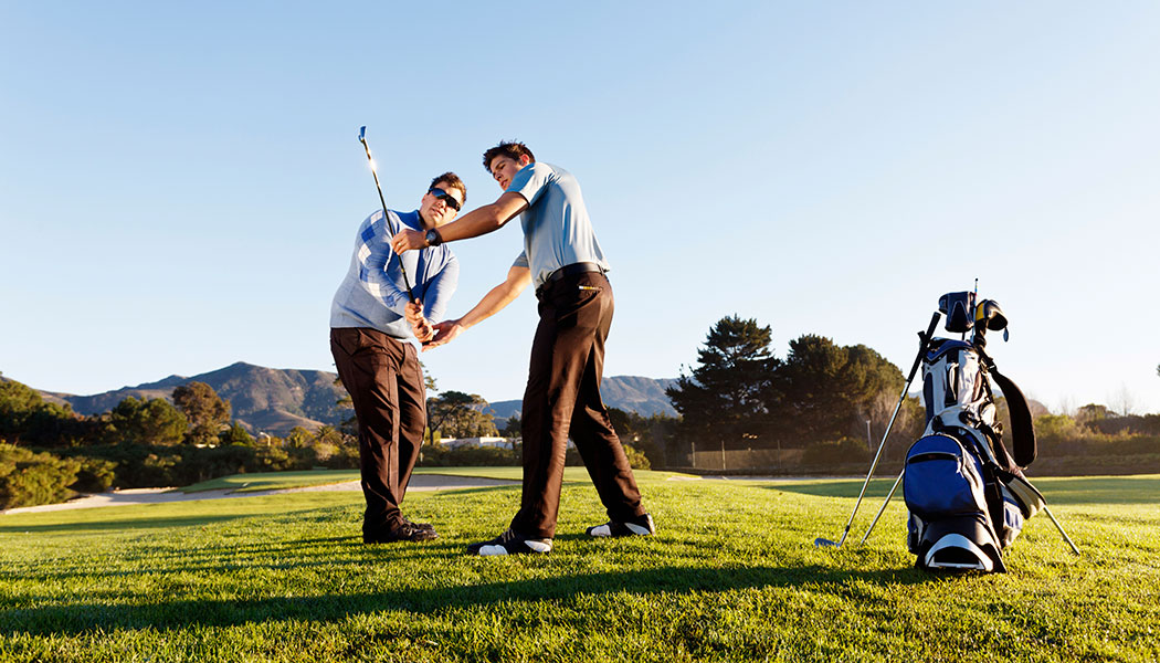 diagnose your own golf swing