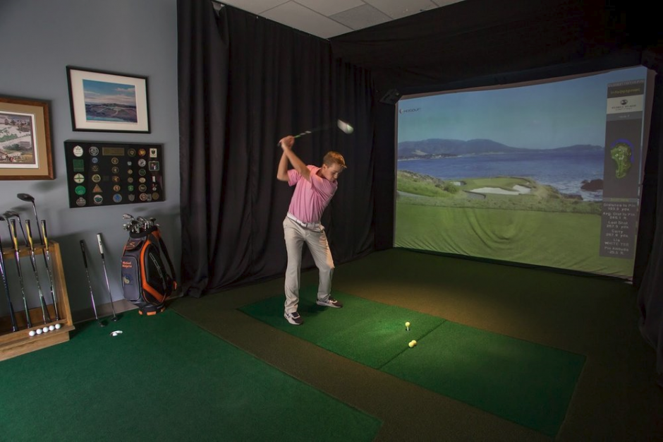 Indoor golf lessons Long Island